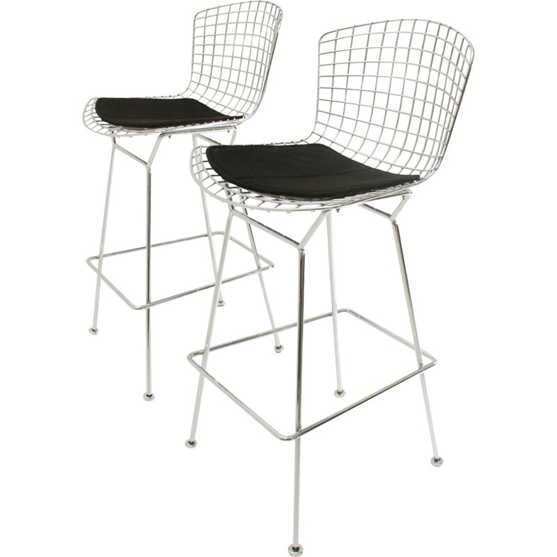 Pair of Bertoia chairs by Harry Bertoia for Knoll - 1950s