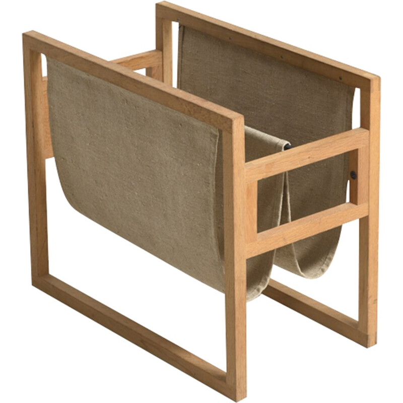 Oak Magazine Rack by Kai Kristiansen - 1950s
