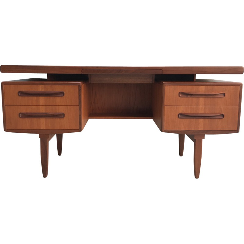 Vintage teak G-Plan desk by V.Wilkins - 1960s