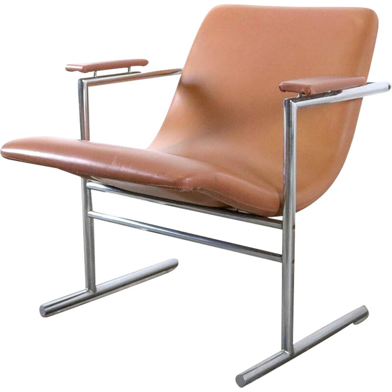 Vintage belgian easy chair by Rudi Verelst for Novalux - 1960s