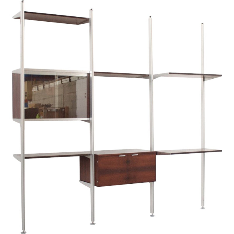 CSS modular shelf by Georges Nelson for Mobilier International - 1970s