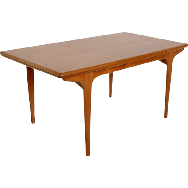 Vintage french teak table - 1960s.