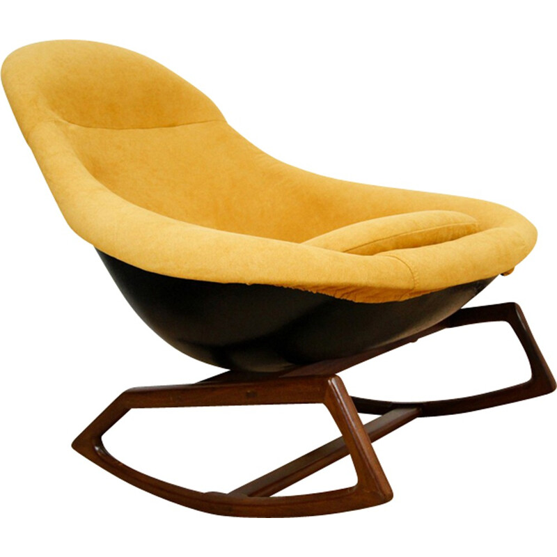 Rocking Chair by W. S. Chenery for Lurashell - 1960s