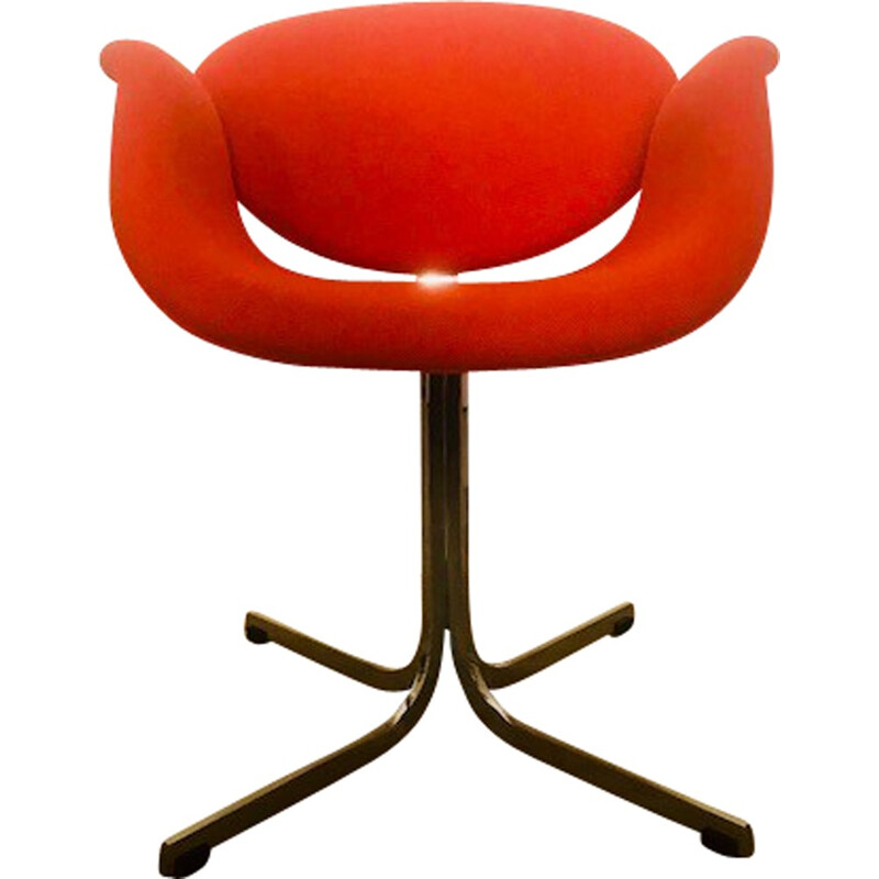 "Vintage armchair ""Little Tulipe"" by Pierre Paulin for Artifort - 1965"