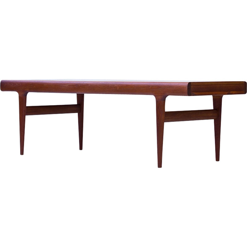 Vintage Teak Extendable Coffee Table by Johannes Andersen for CFC Silkeborg - 1960s