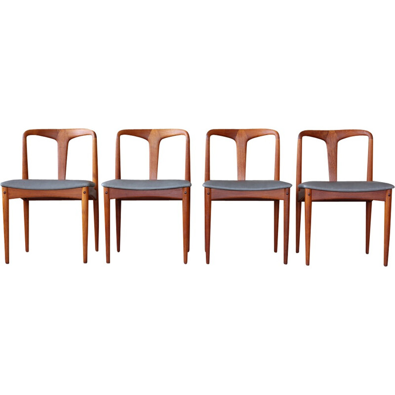 Set of 4 of Juliana Dining Chairs by Johannes Andersen Uldum - 1960s