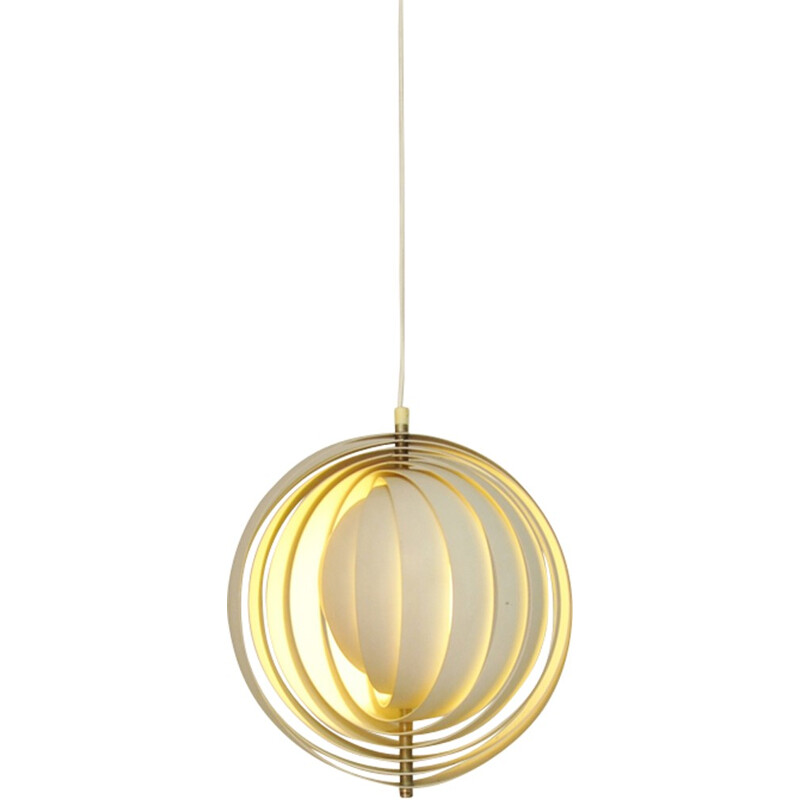 "Vintage ""Moon"" Pendant by Verner Panton for Louis Poulsen - 1950s"