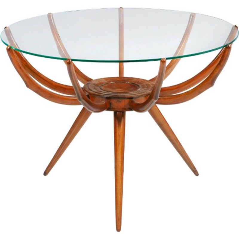 "Vintage ""Spider Leg"" coffee table by Carlo di Carli - 1960s"