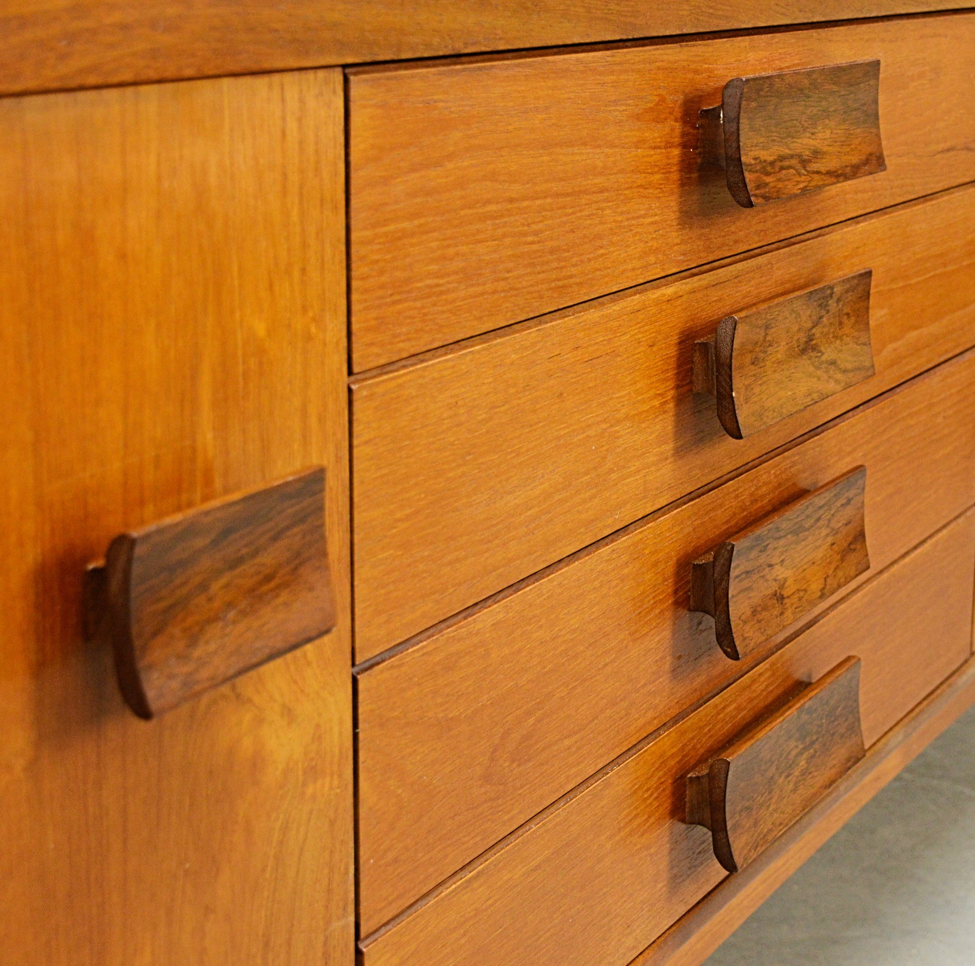 Mid-Century Teak Sideboard by Bath Cabinet Makers - 1960s ...