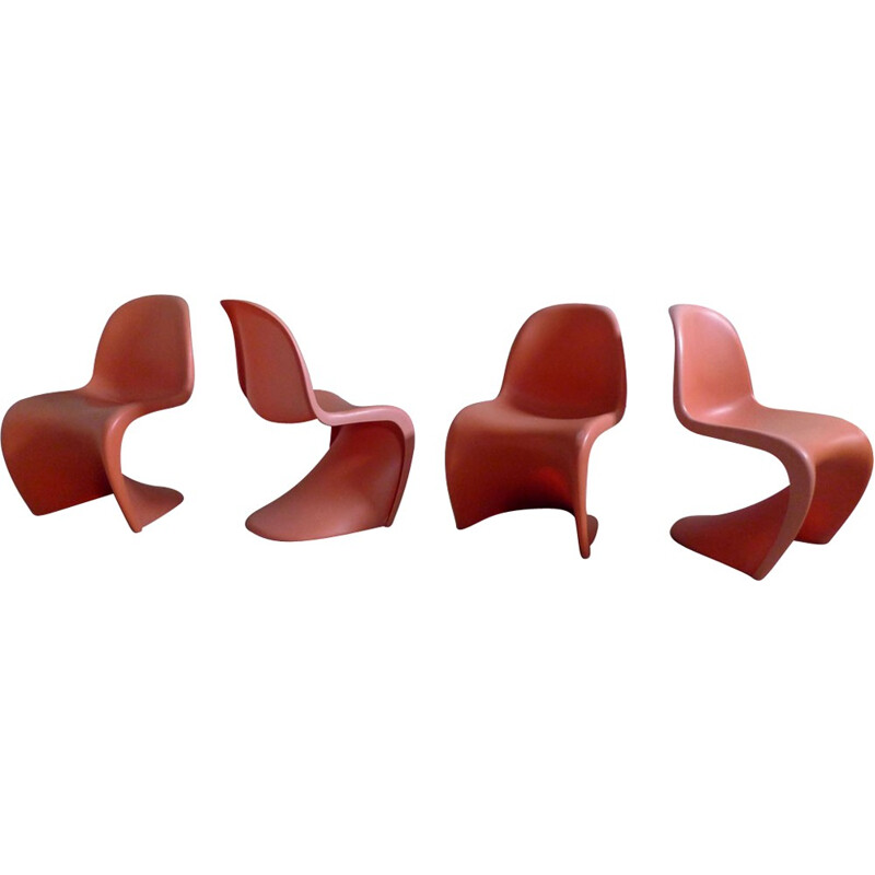 Mid-century chair by Verner Panton for Vitra - 2000s