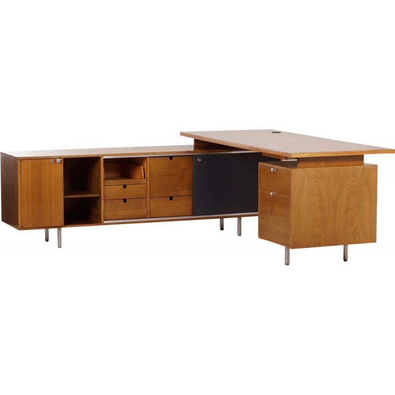 Mid Century Executive Desk From The 9000 Series By George Nelson For Herman Miller