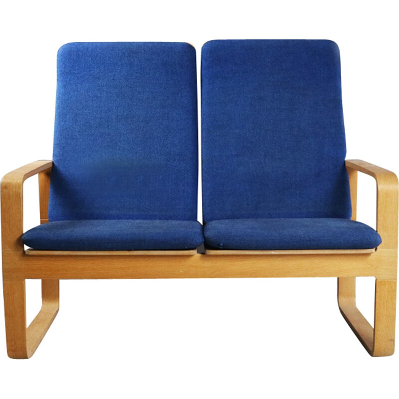 Scandinavian vintage 2 seater sofa by Magnus Olesen for Durup - 1970s