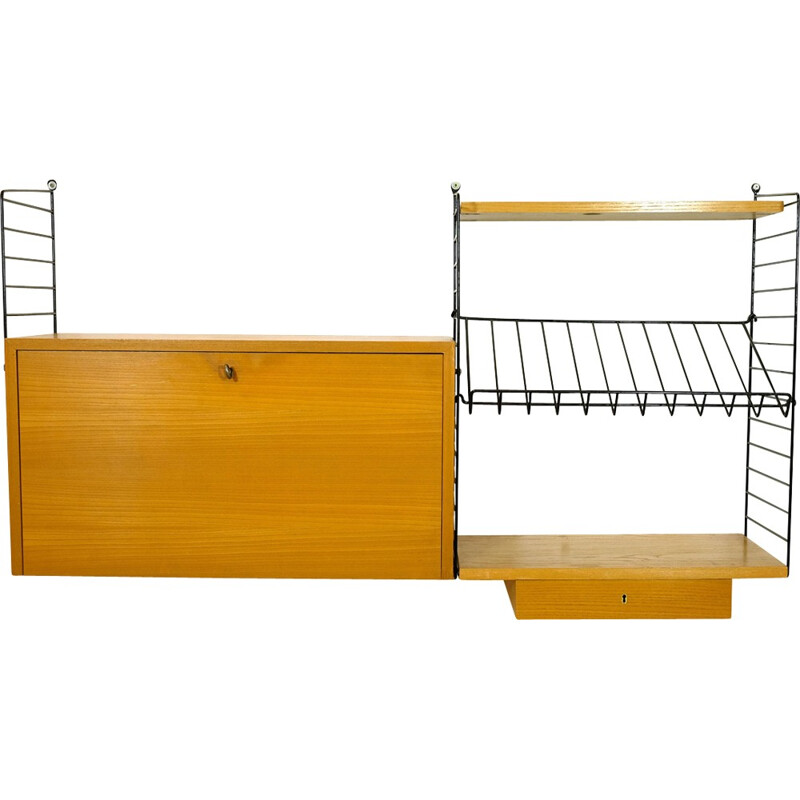 Mid-century String modular shelving system - 1940s