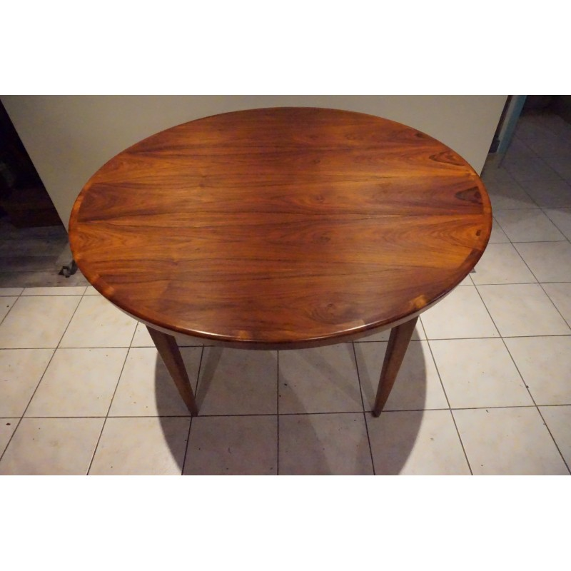 Scandinavian Extendable Rio Rosewood Dining Table - 1960s - Design ...