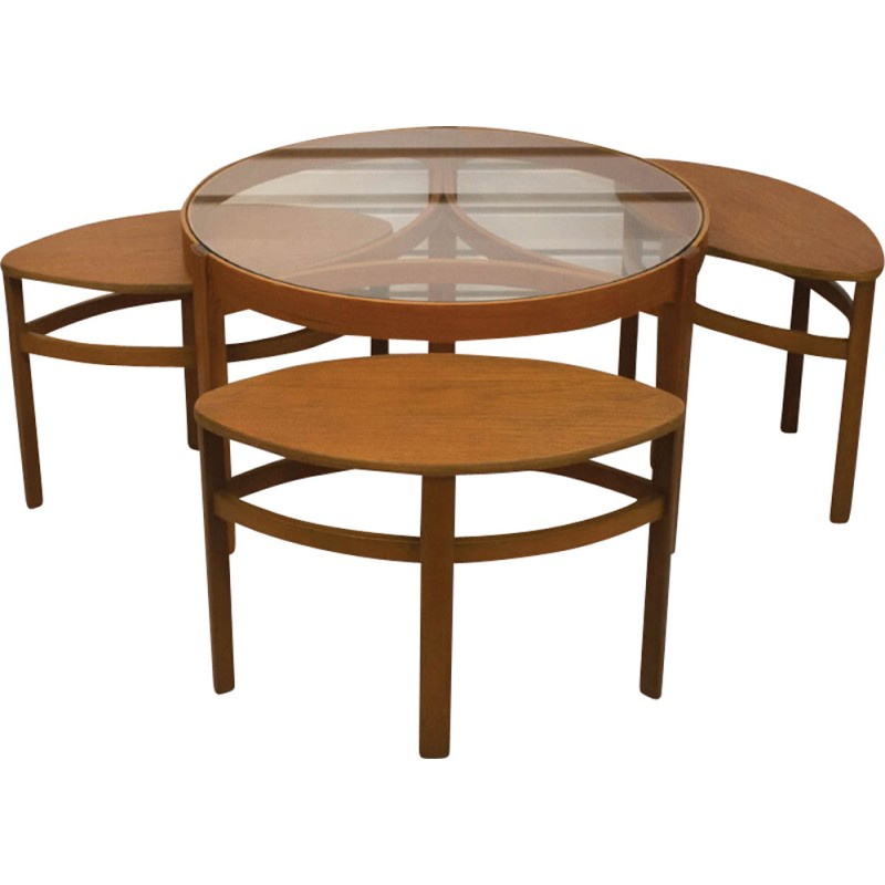 Trinity Mid Century Nesting Tables By Nathan   1960s