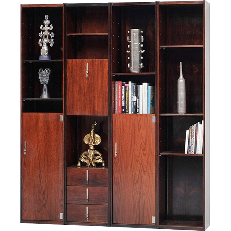 Double-sided Bookcase Room divider - 1970s