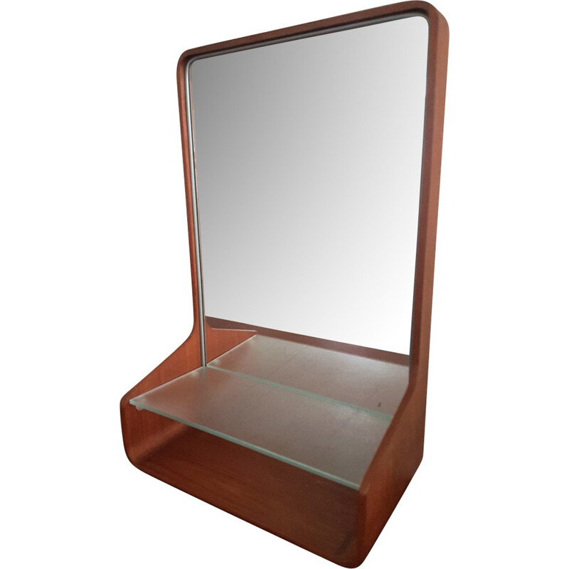 Vintage vanity mirror by Friso Kramer for Auping - 1950s