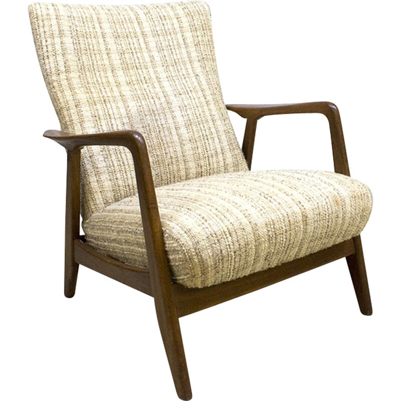 Mid-century lounge armchair by Alf Svensson - 1960s