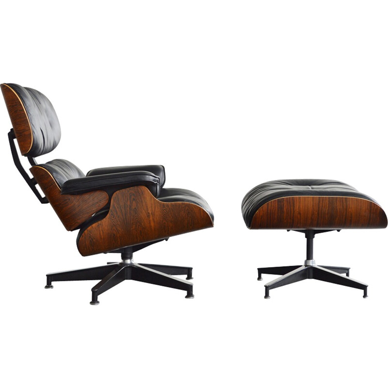 Lounge Chair & Ottoman by Eames for Herman Miller - 1978