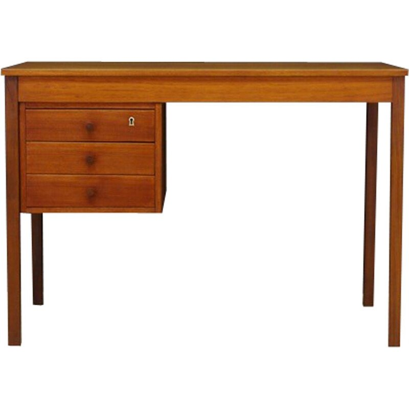 Vintage Scandinavian Teak Working Desk - 1960s