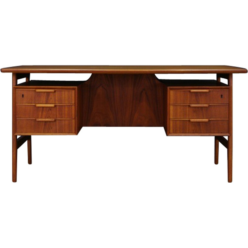 Vintage scandinavian writing desk by Gunni Omann - 1960s