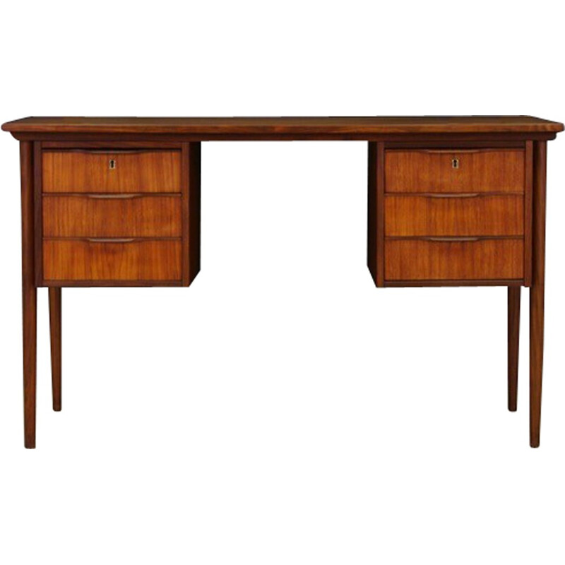 Vintage working desk in teak - 1960s