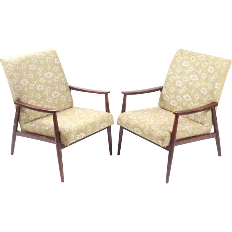 Vintage set of armchairs - 1970s