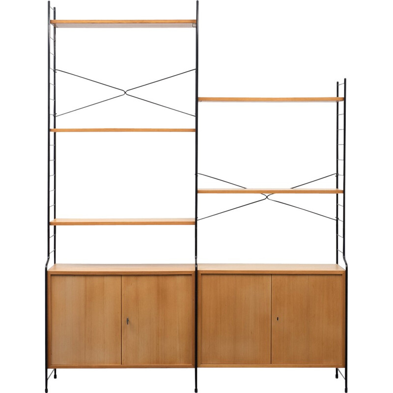 Vintage free-standing shelf by WHB - 1960s