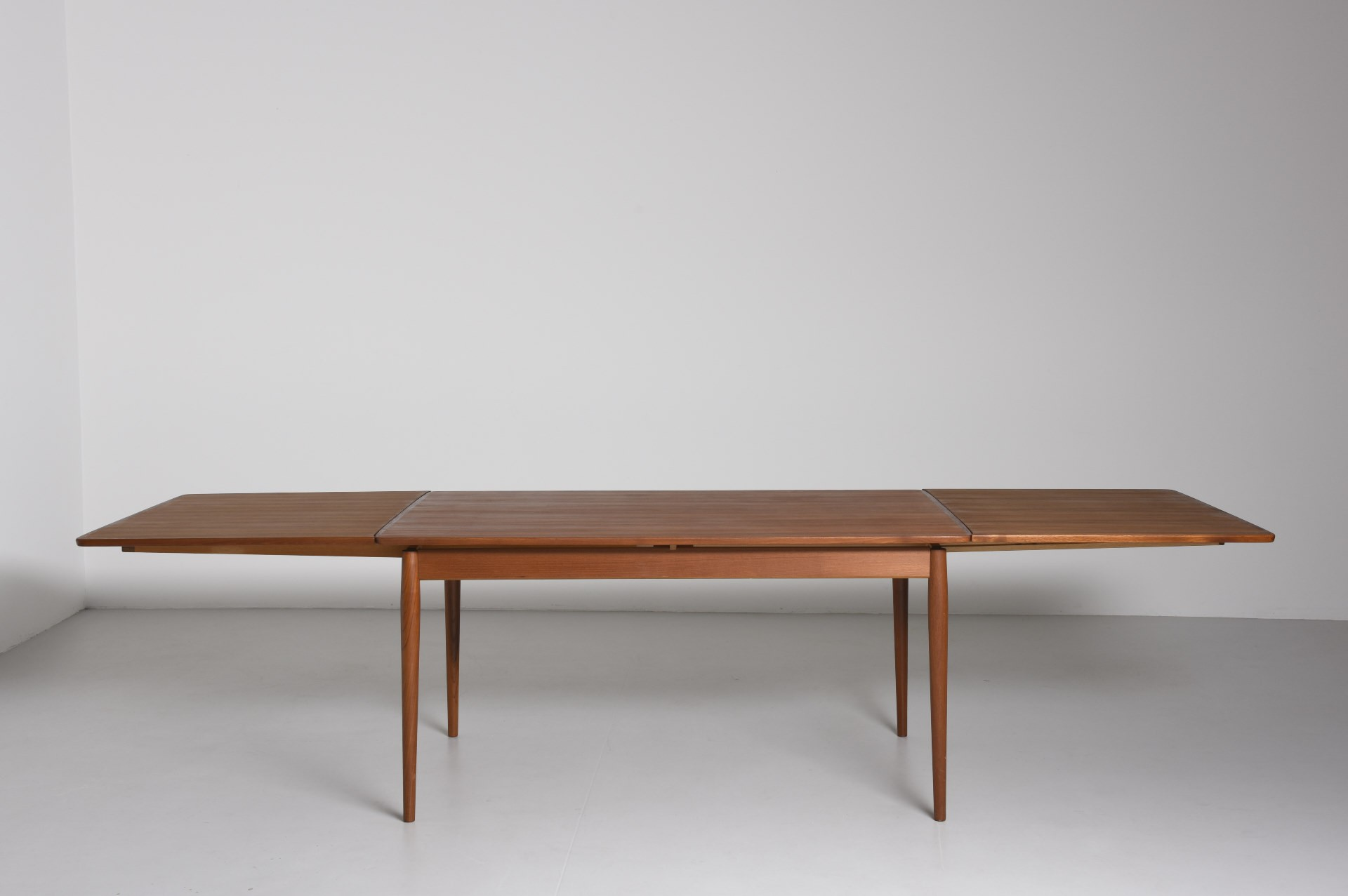 Vintage Teak Dining Table By Arne Vodder For Sibast