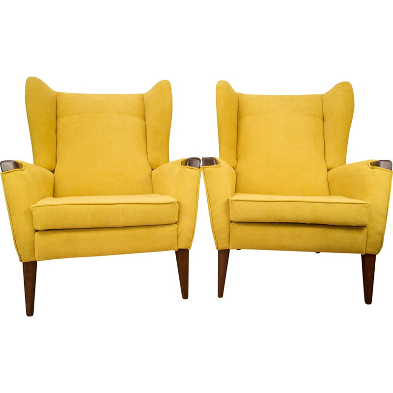 Set of two mid-century Danish armchairs - 1960s