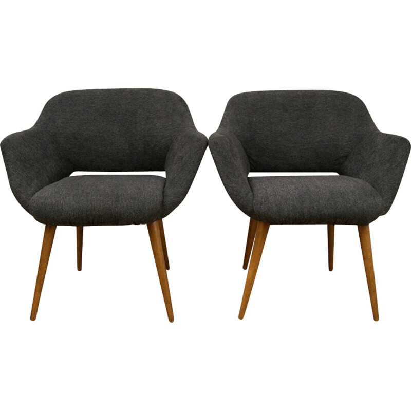 Set of two Mid Century Small Polish Armchairs - 1970s