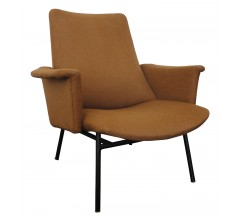 "Brown ""SK660"" armchair, Pierre GUARICHE - 1950s"