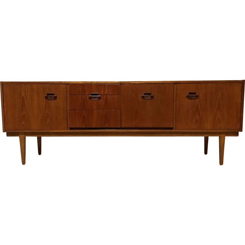 Mid Century Vintage Retro teak sideboard for Nathan Furniture - 1960s