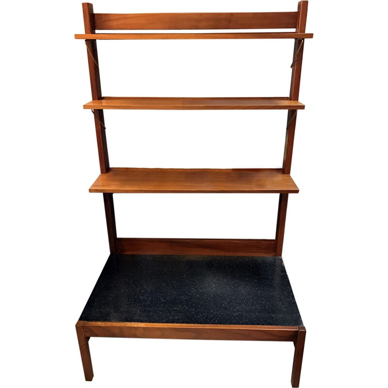 Mid Century vintage shelving unit for Guy Rogers Beverly Hills - 1960s