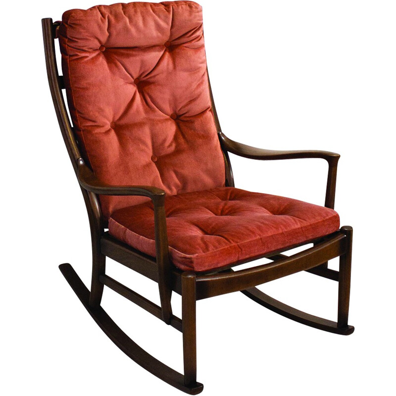 Vintage PK1016-19 rocking chair from Parker Knoll - 1960s