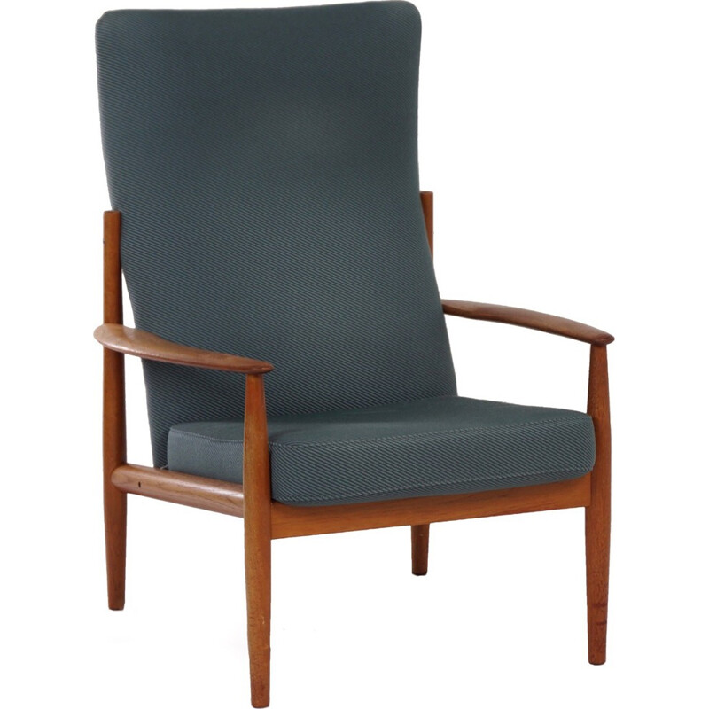 Danish Armchair by Grete Jalk for France & Son - 1960s