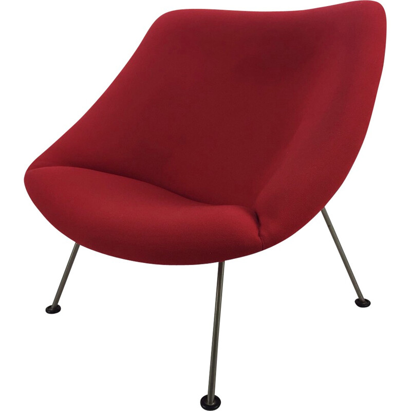 Vintage Oyster Easy Chair by Pierre Paulin for Artifort - 1960s