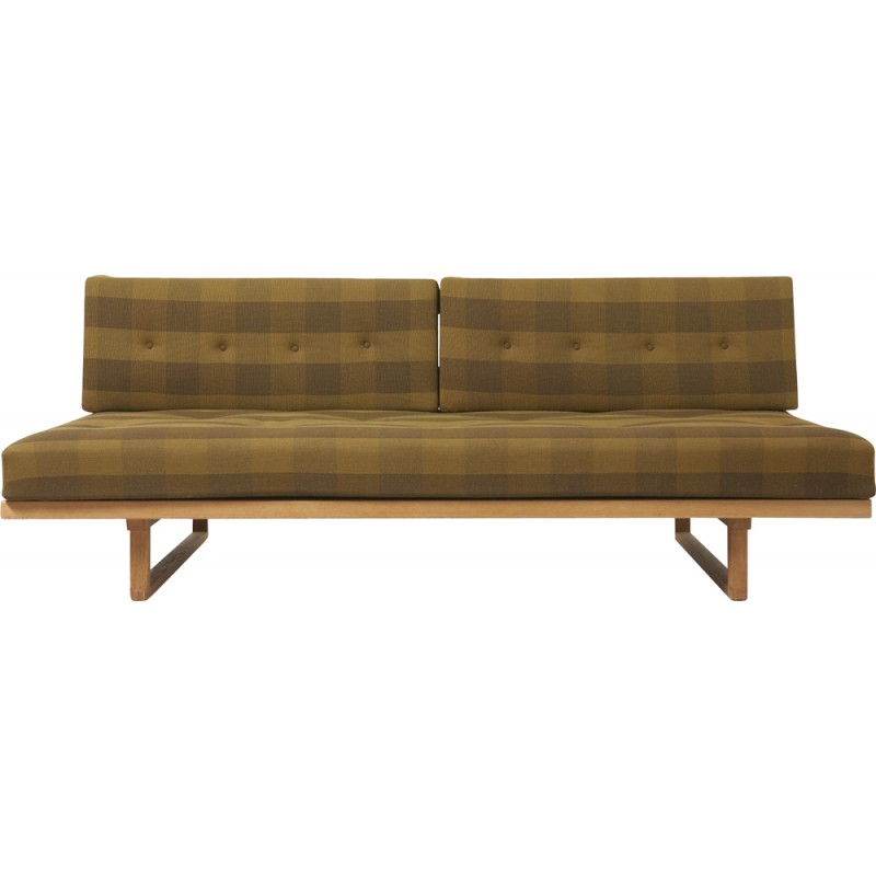 Vintage Model 191 Sofa Or Daybed In Oak By Børge Mogensen For Fredericia Stolefabrik 1950s