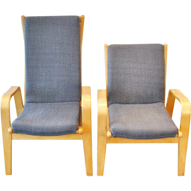 Vintage Set of 2 Lounge Chairs by Cees Braakman for Pastoe - 1950s
