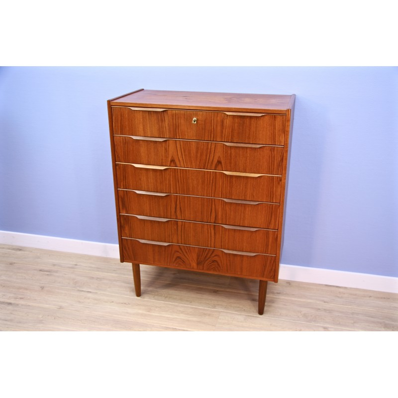 geometric with handles mid for of danish chest drawers teak century