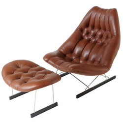 Lounge Chair and ottoman, Geoffrey HARCOURT - 1960s