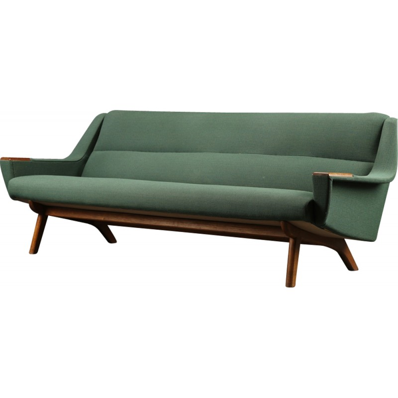 Mid-century 3-seater Danish Sofa - 1960s