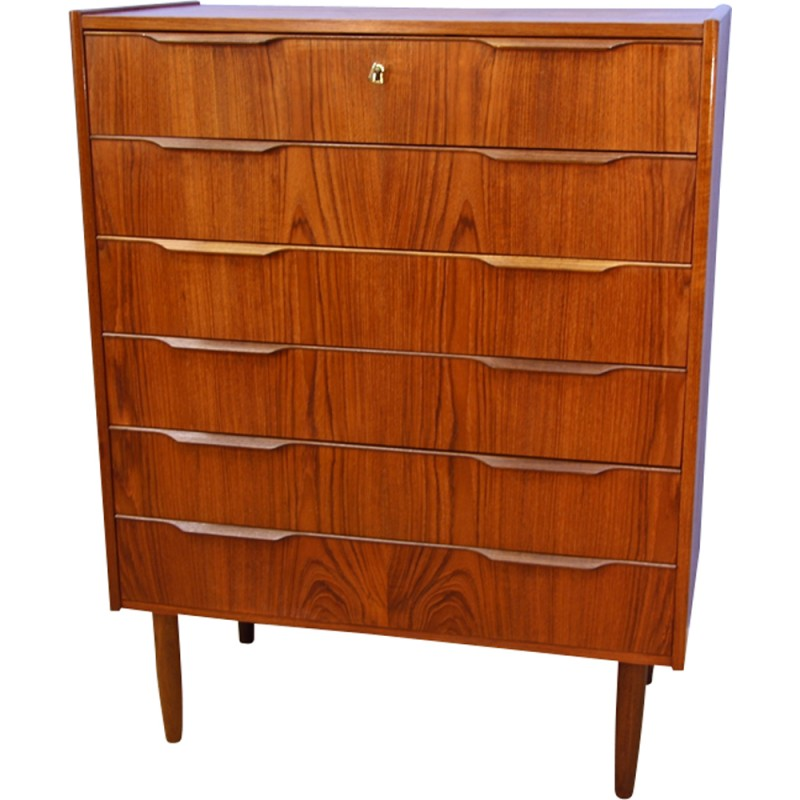 chest from mid pamono for in drawers westergaard century of at sale teak