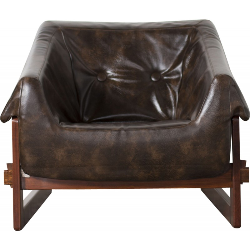 Percival Lafer Rosewood And Distressed Tufted Yellow: 1960s Italian Percival Lafer Couch Couch Furniture Design