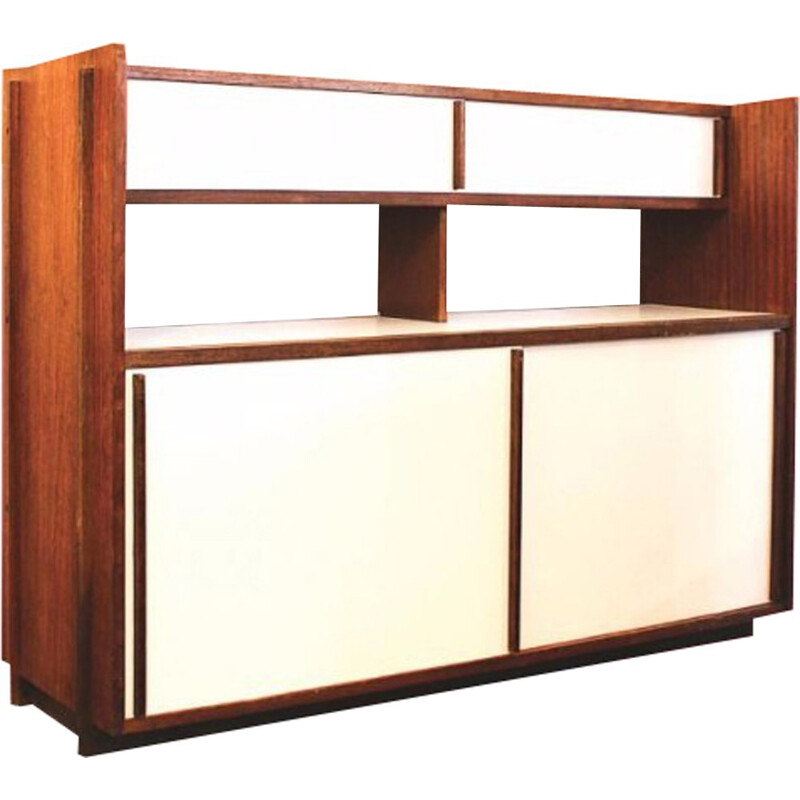 Mid-century French highboard by Le Corbusier - 1950s