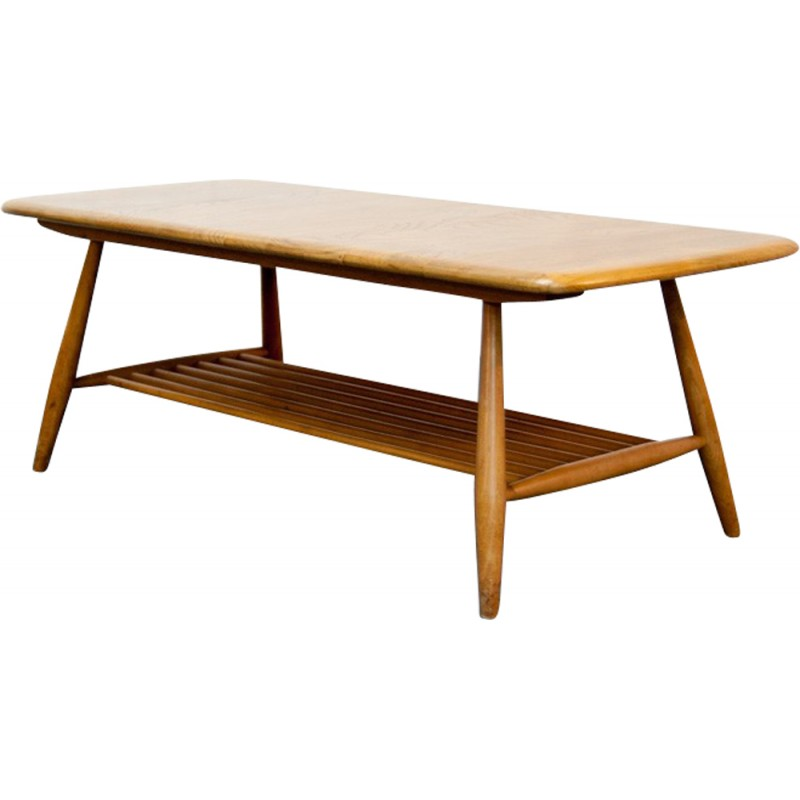 Midcentury Ercol coffee table 104cm 1960s Design Market