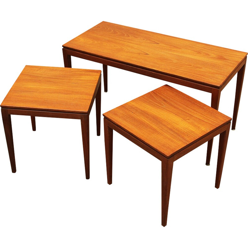 Vintage nesting tables by Richard Hornby - 1960s