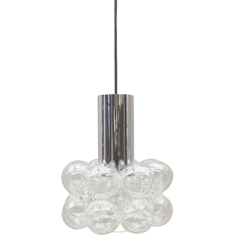 Vintage Bubble Ceiling Lamp by Helena Tynell for Limburg - 1960s