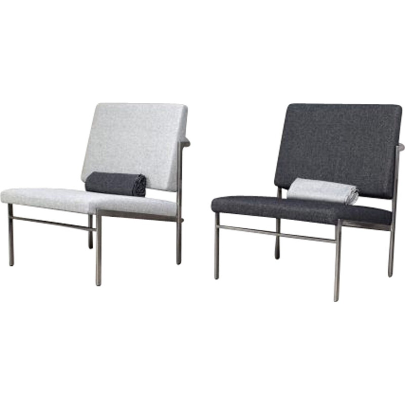 Vintage pair of armchairs by Rob Parry for Kuipers - 1960s