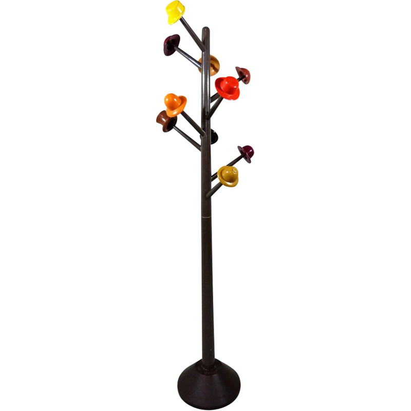 Vintage Coat Stand by Ugo Nespolo for Origlia, Italy - 1970s